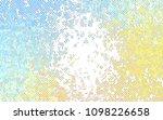 light blue  yellow vector... | Shutterstock .eps vector #1098226658