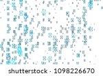 light blue vector of small... | Shutterstock .eps vector #1098226670