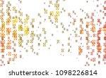 light orange vector abstract... | Shutterstock .eps vector #1098226814