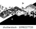 black and white contrast...   Shutterstock .eps vector #1098227720