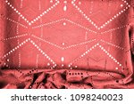 texture  pattern. cloth red... | Shutterstock . vector #1098240023