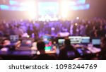 background production live... | Shutterstock . vector #1098244769