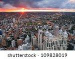Chicago Skyline Panorama Aeria...
