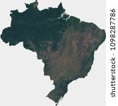 large  142 mp  satellite image... | Shutterstock . vector #1098287786