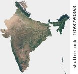large  90 mp  satellite image... | Shutterstock . vector #1098290363