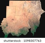 large  18 mp  satellite image... | Shutterstock . vector #1098307763