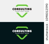 consulting chat logo sign  icon ...   Shutterstock .eps vector #1098312590