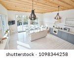 wide angle of modern open...   Shutterstock . vector #1098344258