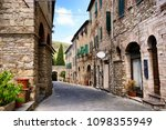 medieval village of suvereto in ... | Shutterstock . vector #1098355949