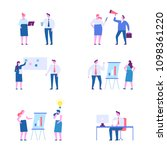 business people character set.... | Shutterstock .eps vector #1098361220