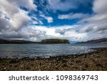 a beautiful panoramic view of... | Shutterstock . vector #1098369743