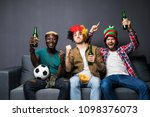 image of friends men watching... | Shutterstock . vector #1098376073