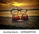 creative with sunglasses   Shutterstock . vector #1098389930