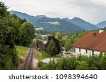 pettenbach railway in austria | Shutterstock . vector #1098394640