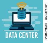 data center technology | Shutterstock .eps vector #1098395204