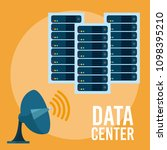 data center technology | Shutterstock .eps vector #1098395210