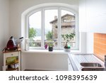 details of a window in the... | Shutterstock . vector #1098395639