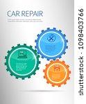 car service business... | Shutterstock .eps vector #1098403766