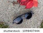 sunglasses eyewear glasses...   Shutterstock . vector #1098407444