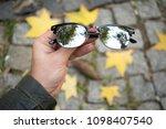 sunglasses eyewear glasses...   Shutterstock . vector #1098407540