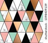 vector marble texture design... | Shutterstock .eps vector #1098409139