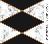 vector marble texture design... | Shutterstock .eps vector #1098409970