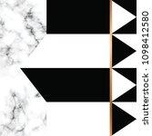 vector marble texture design... | Shutterstock .eps vector #1098412580