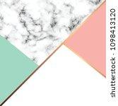 vector marble texture design... | Shutterstock .eps vector #1098413120
