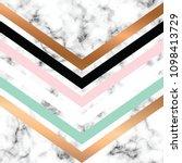 vector marble texture design... | Shutterstock .eps vector #1098413729
