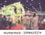 out of focus blur event... | Shutterstock . vector #1098415274
