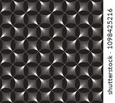 vector seamless vintage pattern ... | Shutterstock .eps vector #1098425216
