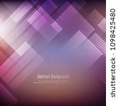 abstract elegant geometric... | Shutterstock .eps vector #1098425480