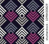 ethnic boho seamless pattern.... | Shutterstock .eps vector #1098430829