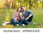happy young family spending...   Shutterstock . vector #1098441320