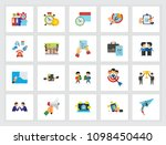 targeting icon set. can be used ...   Shutterstock .eps vector #1098450440