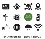 power simple icons set with wi... | Shutterstock .eps vector #1098450923