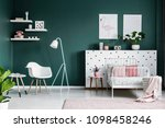 pastel pink decorations in a... | Shutterstock . vector #1098458246
