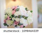 wedding gentle decoration | Shutterstock . vector #1098464339
