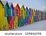 Colored Beach Huts  Cape Town ...