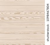 vector texture of pale wood | Shutterstock .eps vector #1098467804