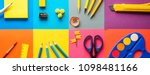 set of school and preschool... | Shutterstock . vector #1098481166
