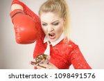dieting  weight loss concept.... | Shutterstock . vector #1098491576