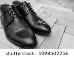 men's shoes with rings | Shutterstock . vector #1098502256