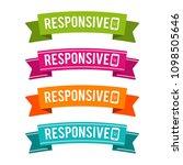 colorful responsive ribbons....