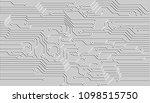circuit board hi technology... | Shutterstock .eps vector #1098515750