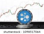aelf  elf  cryptocurrency  aelf ... | Shutterstock . vector #1098517064