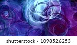 abstract background psychedelic ... | Shutterstock . vector #1098526253
