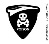 poison and shield.protection... | Shutterstock .eps vector #1098527948