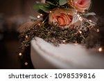 sweetheart table centerpiece... | Shutterstock . vector #1098539816