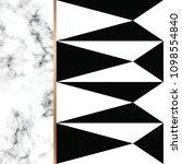 vector marble texture design... | Shutterstock .eps vector #1098554840